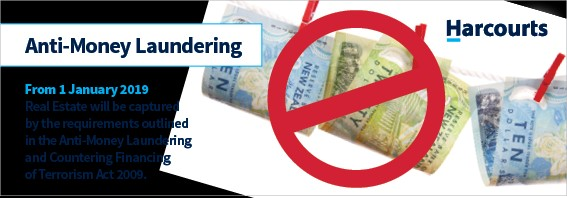Anti Money Laundering Auckland real estate Harcourts